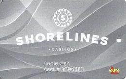 Shorelines Casinos - Ontario Canada - Slot Card - Casino Cards
