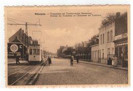 Wijnegem. - Tramstatie En Turnhoutsesteenweg (met Tram Nr 9652) - Wijnegem