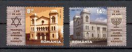 Romania 2013 130 Years Of Synagoe In Radauti 2v** MNH - Romania