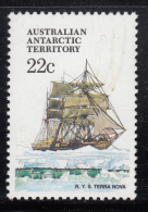 Australian Antarctic Territory 1974-81 MNH Scott #L44 22c R.Y.S. Terra Nova - Ships - Neufs
