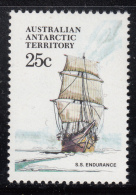 Australian Antarctic Territory 1974-81 MNH Scott #L45 25c S.S. Endurance - Ships - Neufs