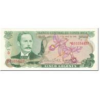 Billet, Costa Rica, 5 Colones, 1983, 1983-04-07, KM:236d, NEUF - Costa Rica