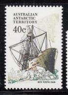 Australian Antarctic Territory 1974-81 MNH Scott #L48 40c M.S. Kista Dan - Ships - Neufs