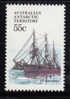 Australian Antarctic Territory 1974-81 MNH Scott #L51 55c S.Y. Discovery - Ships - Neufs