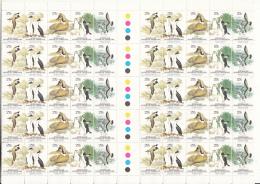 Australian Antarctic Territory 1983 MNH Scott #L55 Wildlife Gutter Block Of 10 Strips - Neufs