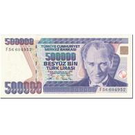 Billet, Turquie, 500,000 Lira, 1994-2006, Old Date 1970-10-14, KM:208, NEUF - Türkei