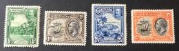 Grenada - MH*  - 1934 - # 114, 115, 177, 118 - Grenada (...-1974)