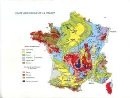 GEO001 - CARTE GEOLOGIQUE DE LA FRANCE - Landkarten