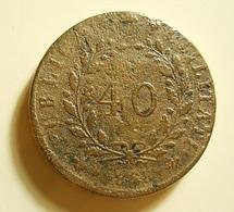 Portugal 40 Reis 1828 D. Miguel I - Portugal