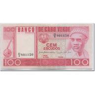 Billet, Cape Verde, 100 Escudos, 1977, 1977-01-20, KM:54a, NEUF - Cabo Verde