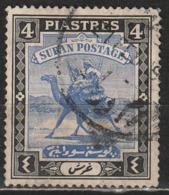 Sudan 1936 Postman With Dromedary (Camelus Dromedarius) - Animali (Fauna) | Cammelli | Mammiferi - Sudan (1954-...)