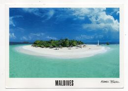 Maldives --Reethi Beach  --- Timbre (coquillage)  . Cachet - Maldive