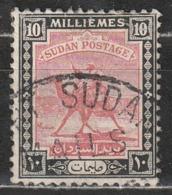Sudan 1927 Postman With Dromedary (Camelus Dromedarius) - Animali (Fauna)   Cammelli   Mammiferi - Sudan (1954-...)