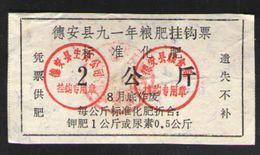 КИТАЙ  COUPON PRODUCTS-90 - Chine