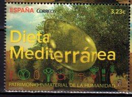2015 Spain - UNESCO Untangible Heritage - Mideteraniean Diet - Odd With Olive Oil Drop -1v MNH** MI 4998 (zz16) - Fehldrucke