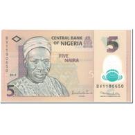 Billet, Nigéria, 5 Naira, 2011, Undated (2011), KM:38, NEUF - Nigeria