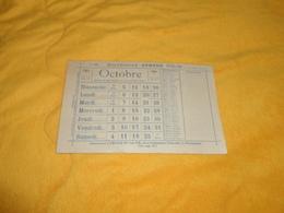 CALENDRIER ANCIEN DE OCTOBRE 1941  SEPTEMBRE 1942 DE ARMAND COLIN. - Calendars