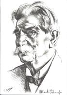Docteur Albert SCHWEITZER (dessin) - Prix Nobel