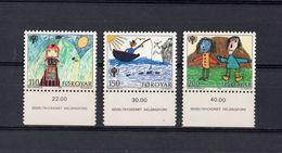ISOLE  FAROER : Anno Internazionale Del Fanciullo - 3 Val.  MNH**  Del  1.10.1979 - Féroé (Iles)