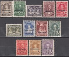 1926 EDIFIL Nº 13 / 24  /**/, Pro Cruz Roja. - Sahara Español