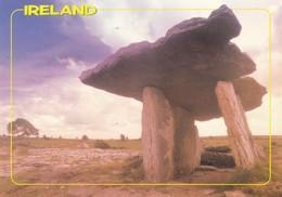 Postcard Dolmen Co Clare Ireland PU 1991 [ John Hinde ] My Ref  B22779 - Dolmen & Menhirs