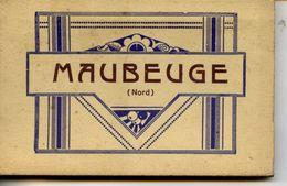 59 MAUBEUGE Album Carnet De 20 Cartes Postales Détachables Dont Animées,péniches 3 Scans ,Editions LENGRAND - Maubeuge