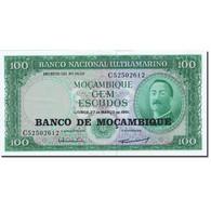 Billet, Mozambique, 100 Escudos, 1961-1967, 1961-03-27, KM:117a, SUP - Mozambique