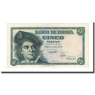 Billet, Espagne, 5 Pesetas, 1948-03-05, KM:136a, NEUF - 5 Pesetas