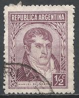 Argentina 1935. Scott #418 (U) Gen. Manuel Belgrano * - Argentine