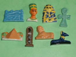 Sèrie De Fèves Complète  : Le Temps Des Pharaons 2007 - Countries