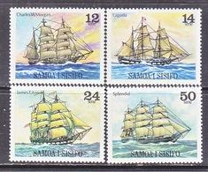 SAMOA  503-6  **  SAILING  SHIPS - Samoa