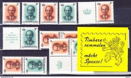 LUXEMBOURG YT C 1175 Et Combinaisons ** MNH. (4N314D) - Booklets