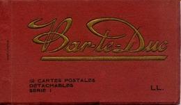 55 BAR-LE-DUC - Album Carnet De 9 Cartes Postales Détachables Édition Des Magasins Réunis - LL - Bar Le Duc