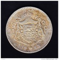 BELGIUM MORIN CAT N° 306a  UNCIRCULATED. (B14) - 11. 20 Francs & 4 Belgas