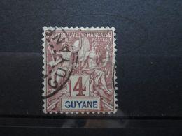 "VEND BEAU TIMBRE DE GUYANE N° 32 , "" G "" BRISE !!! - Guyane Française (1886-1949)"