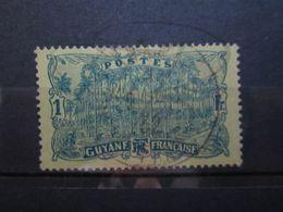 VEND BEAU TIMBRE DE GUYANE N° 107 !!! - Guyane Française (1886-1949)