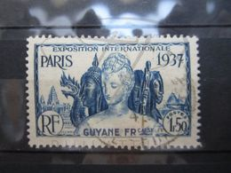 VEND BEAU TIMBRE DE GUYANE N° 148 !!! - Guyane Française (1886-1949)