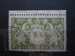 "VEND BEAU TIMBRE DE GUYANE N° 200 + BDF , CACHET "" CAYENNE "" !!! - Guyane Française (1886-1949)"
