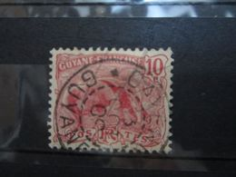 "VEND BEAU TIMBRE DE GUYANE N° 53 , CACHET "" CAYENNE "" !!! - Guyane Française (1886-1949)"
