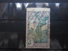 "VEND BEAU TIMBRE DE GUYANE N° 157 , CACHET "" CAYENNE "" !!! - Guyane Française (1886-1949)"