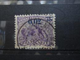 """VEND BEAU TIMBRE DE GUYANE N° 92 , CACHET """" ST-LAURENT DU MARONI """" !!! - Guyane Française (1886-1949)"""