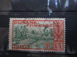 """VEND BEAU TIMBRE DE GUYANE N° 121 , CACHET """" ST-LAURENT DU MARONI """" !!! - Guyane Française (1886-1949)"""