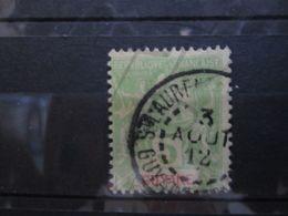 """VEND BEAU TIMBRE DE GUYANE N° 43 , CACHET """" ST-LAURENT DU MARONI """" !!! - Guyane Française (1886-1949)"""