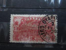 "VEND BEAU TIMBRE DE GUYANE N° 63 , CACHET "" OYAPOC "" !!! - Guyane Française (1886-1949)"