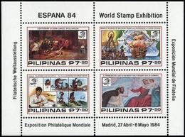 1984, Philippinen, Block 23 A, ** - Philippinen