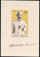 1960, Vietnam Nord Und Republik, Block 2 Y, ** - Vietnam