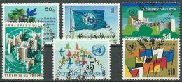 UNO WIEN 1979 JAHRGANG Mi-Nr. 1 - 6 O Used - Aus Abo - Centre International De Vienne