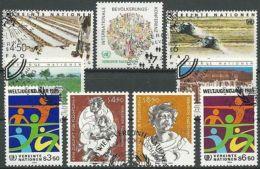 UNO WIEN 1984 JAHRGANG Mi-Nr. 38 - 46 O Used - Aus Abo - Centre International De Vienne