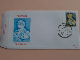 ENFANTS * KINDEREN : 3-11-1984 / F.D.C. P 736 ( Zie/voir Foto's Voor/pour Détails ) ! - FDC