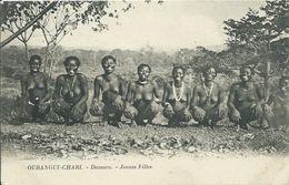 OUBANGUI-CHARI - DAMARA - Jeunes Filles  - Non Voyagée, Dos Blanc - Central African Republic
